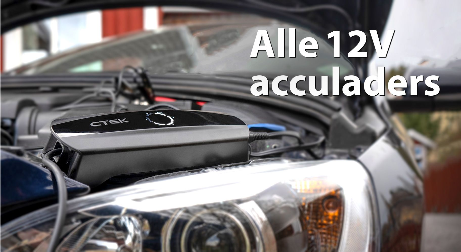 12V acculaders